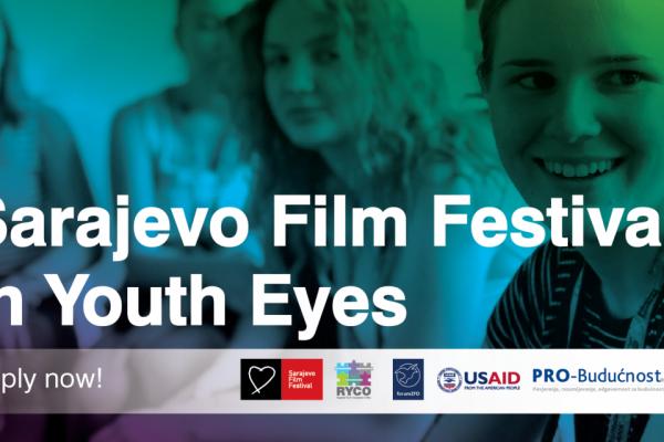 Otvoren poziv za Western Balkans Youth Team - Sarajevo Film Festival u očima mladih