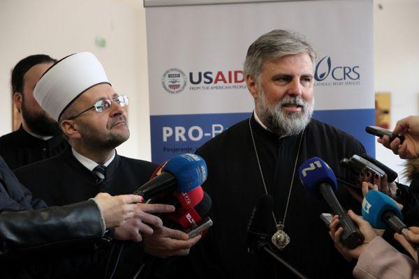"""Vladika Grigorije potpisao Platformu za mir: """"Istinski mir je jedina opcija za ove prostore"""""""
